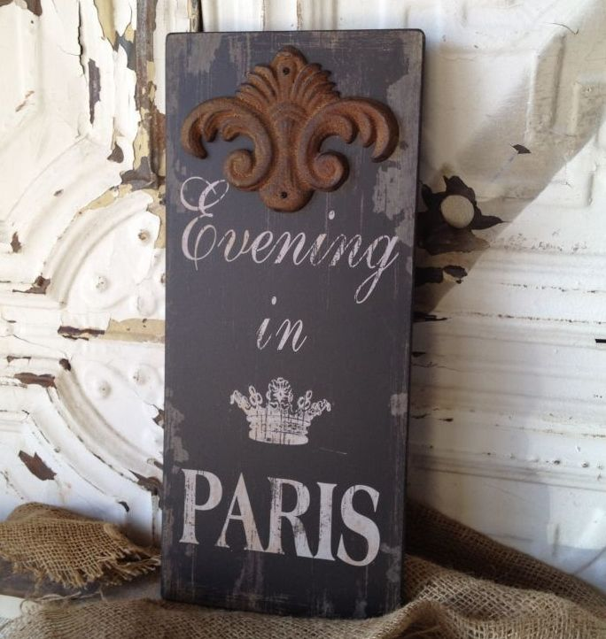 Evening in Paris Sign