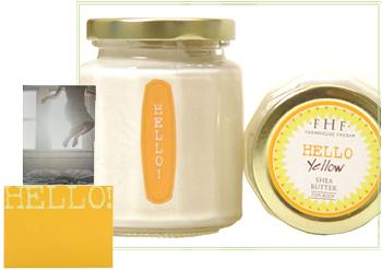 Hello Yellow Shea Butter Cream