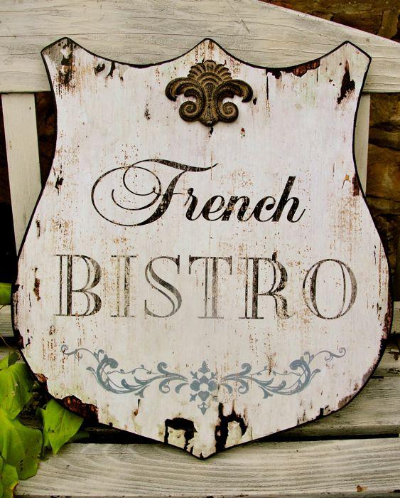 French Bistro Shield
