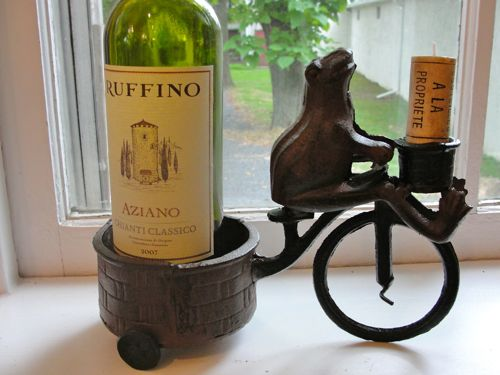 Adorable Frog Wine Bottle Holder