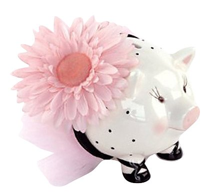 Mud Pie Perfectly Princess Piggy Bank