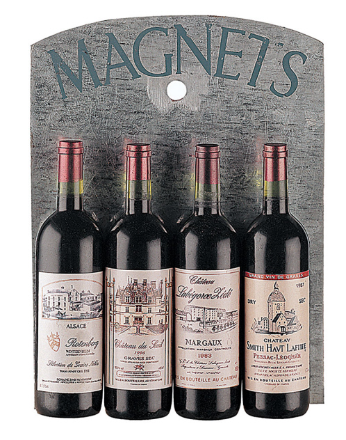 Wine Bottle Magnets