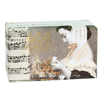 Woman with Music French Milled Soap